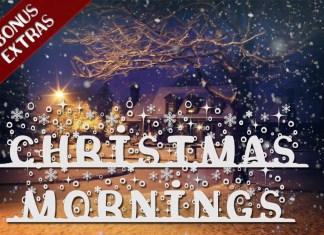 Christmas Mornings Font with Bonus ExtrasRegular Font