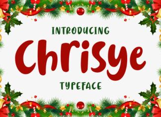 Chrisye Font