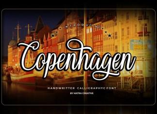 Copenhagen Script Font