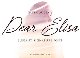 Dear Elisa Script Font