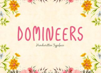 Domineers Typeface