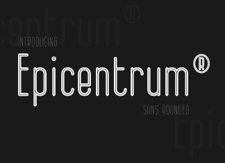 Epicentrum Regular Font
