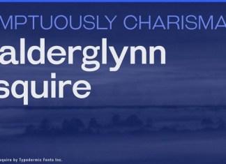 Galderglynn Esquire Font Family
