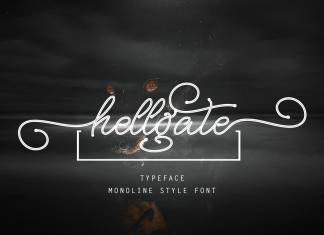hellgateScript Font