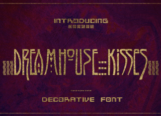 JVNE Dreamhouse KissiesLogo Font