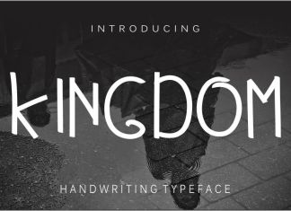 Kingdom Regular Font