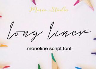 Long Liner Font