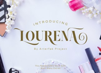 Lourena Typeface Regular Font