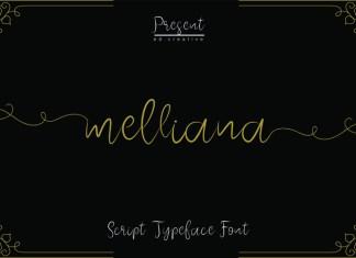 melliana Script Font
