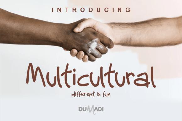 Multicultural Font