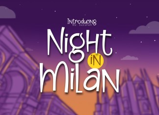 Night in MilanOther Font