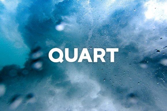 QUART - Cool Display / Headline Font