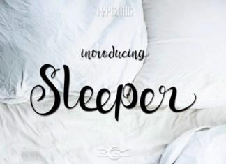 Sleeper Font