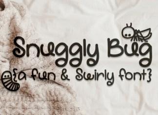 Snuggly Bug Font