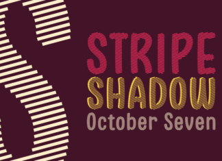 Stripe Shadow October Seven