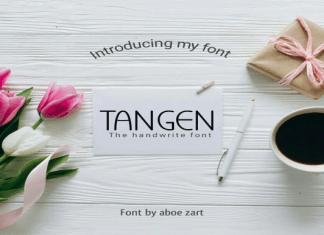 Tangen Font
