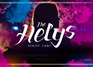 The Helys Script Font
