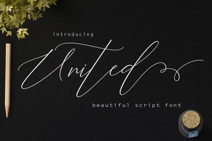 UnitedScript Font