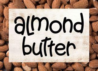 Almond Butter - A Creamy Fun Font Regular Font