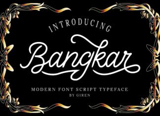 Bangkarb Font