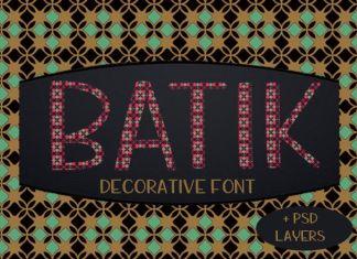 Batik Regular Font