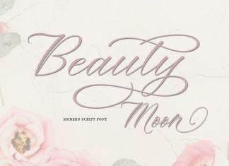 Beauty Moon Script Font