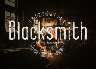 Blacksmith Other Font