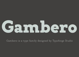 Gambero Font