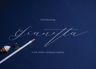 Gianetta Script Font