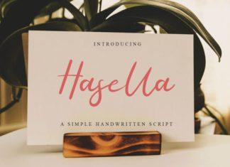 Hasella Script Font