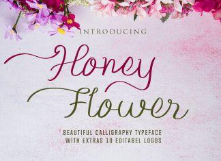 Honey FLower Script Font