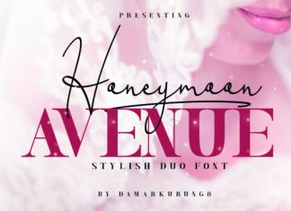Honeymoon Avenue Font