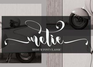 metic Font