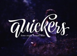 Quickers Typeface