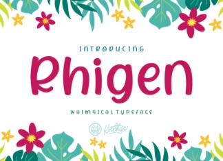 Rhigen Font