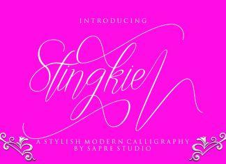 Stingkie Script Font