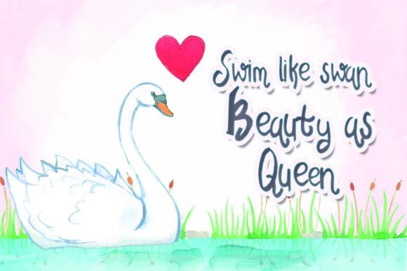 Swan Tales Font