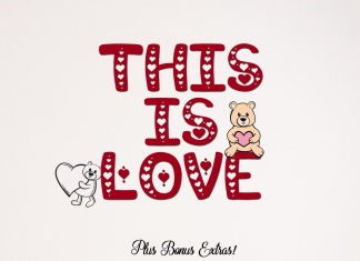 This is Love  Font