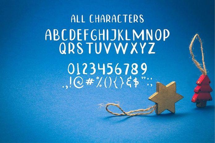 TINNY HURRY Script Font