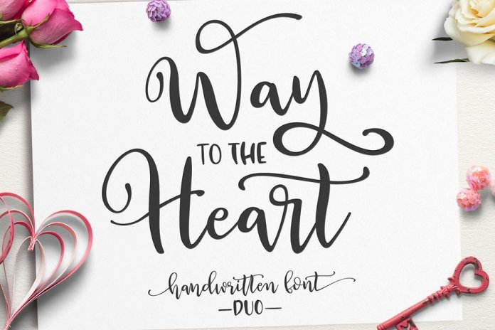 Way to the Heart Font