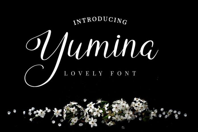 Yumina Script Font