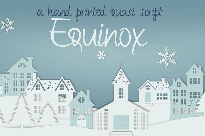 ZP Equinox Script Font