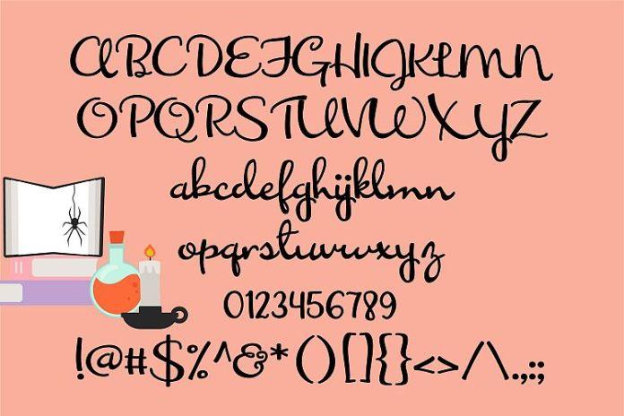 ZP Whisk It Script Font