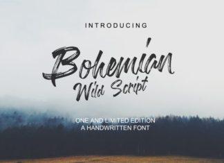 Bohemian Wild Script