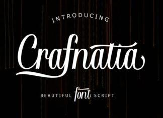 Crafnatia Script Font