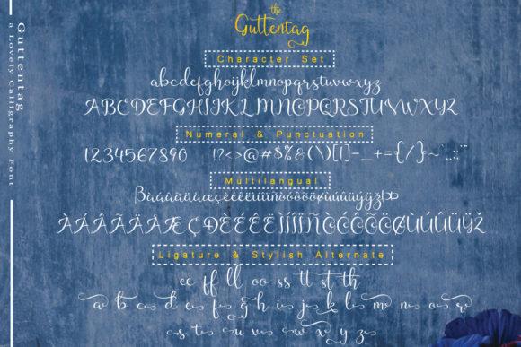 Guttentag Font