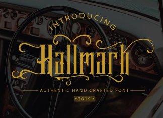 Hallmark Font