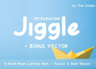 Jiggle Font