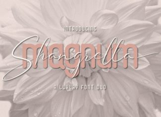 Magnum Shangrella Duo Font