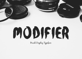 Modifier Regular Font